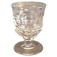 "Flint Glass ""Ashburton"" Pattern Egg Cup"