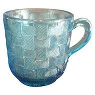 """EAPG """"Basketweave"""" Pattern Cup"""