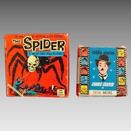 2 - 8mm Film Of Charlie Chaplin and The Spider