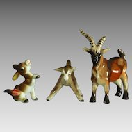 Group of Ceramic Farm Animal Figurines