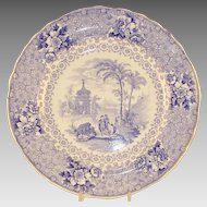 Early English Staffordshire Plate