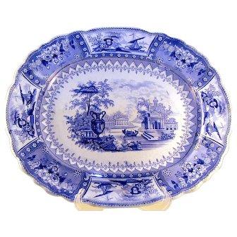 Early Staffordshire Eartherware Platter