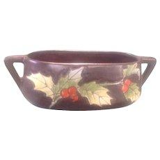 Teplitz-Austria Pottery Oval Bowl