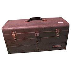 Two-Drawer Vintage Craftsman Toolbox
