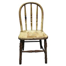 Sweet Old Windsor Child's Chair