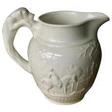 Excellent Wedgwood Small Pitcher with Dog Handle