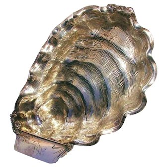 Sterling Figural Sea Motif/ Nautical Sardine Dish-Wood & Hughes c.1880