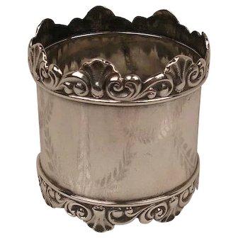 Antique Shreve Sterling Napkin Ring c. 1880