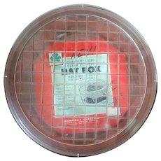 Shamrock Durable Rigid Clear Plastic Hat Box 14 in Diam 6 in deep