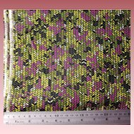 VIP Fabrics Inc Cotton Fabric Greens Fuchsia