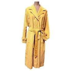 NOS Juli de Roma Camel Hi Lo Corduroy Coat Size 15/16 Original Tags Intact