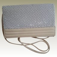 Whiting and Davis Cross Body or Clutch Purse Handbag
