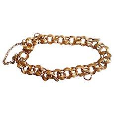 Double Link YGF Starter Charm Bracelet