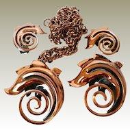 Rame Copper Jewelry 3 pc Set