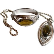 Whiting and Davis Necklace Hinged Bracelet