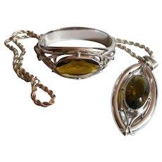 Whiting and Davis Necklace Hinged Bracelet