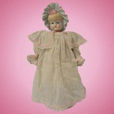 "Beautiful Artist 14"" Bonnet Head Doll"