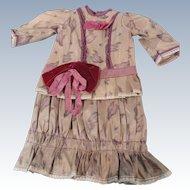 1/2 Price Sale:  2 Pc. Artist Made Doll Dress