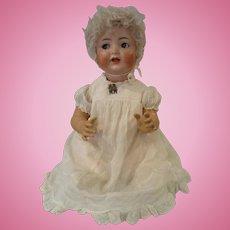 """24"""" Happy, Flirty-eyed Simon & Halbig Baby Doll, Mold #156"""