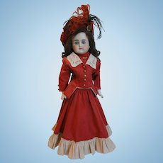 Lovely Open Mouth ABG Doll in Striking Costume