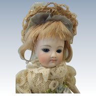 "Gorgeous Kestner 6"" All Bisque Swivel Neck Doll"