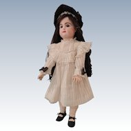 "Lovely Dress and Bonnet for 24-25"" Doll"