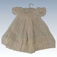 Unusually Pretty Dress for Large Doll or Baby