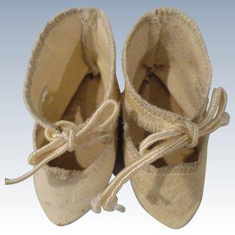 Antique Jumeau Shoes Bee Mark Size 7