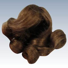 Very Small Human Hair Wig 3 1/2""