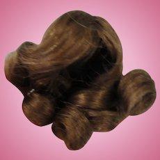 "Very Small Human Hair Wig 3 1/2"""