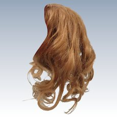 Gorgeous Dark Blond Human Hair Doll Wig Size 10