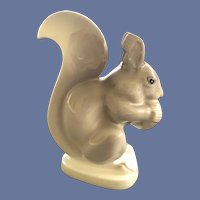 Lovely Fine Porcelain Noritake Japan Squirrel Figurine