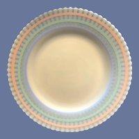 Desirable Macbeth Evans Petalware Pastel Luncheon Plate