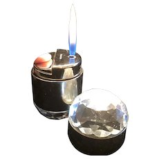 Very Rare Vintage Rowenta West Germany Swarovski Crystal Table Lighter