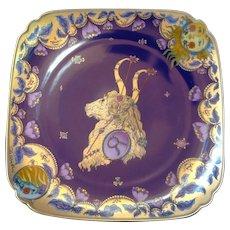 Limited Run Hutschenreuther TAURUS Zodiac Cabinet Plate - Ole Winther
