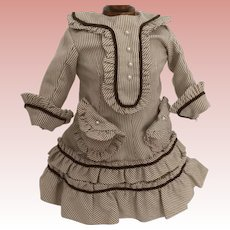 Fabulous Small Handmade Doll Dress