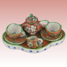 Desvres Gabriel Fourmaintraux Coffee Set