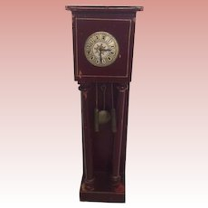 Wonderful German Dollhouse Gottschlak Grandfather Clock
