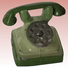 Early German Dollhouse Telephone