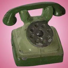 Early German Dollhouse Telephone
