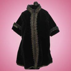 Lovely Vintage Velvet Doll Coat