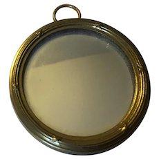 Unusual Dollhouse German Mirror