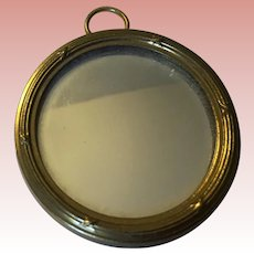 Unusual Dollhouse German Mirror