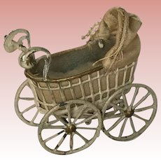 Wonderful Dollhouse Metal Carriage