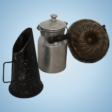 German large Scale Kitchen or Store Accessories