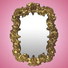 Beautiful Ormolu Dollhouse Mirror