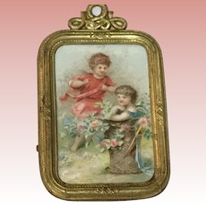 Dollhouse Picture Erhard & Sohne ca.1900