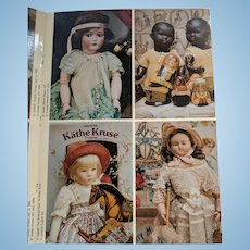 Wonderful book of Antique Doll Postcards