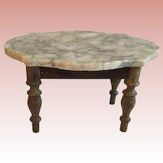 Wonderful Early German Marble Top Table