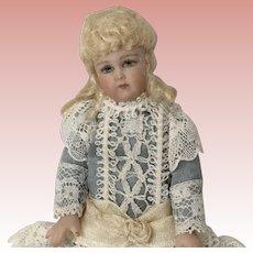 """Darling Artist Made Porcelain Doll 4"""""""